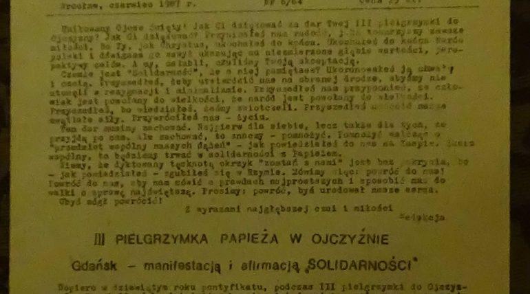 Jednoscia Silni wydanie czerwiec 1987