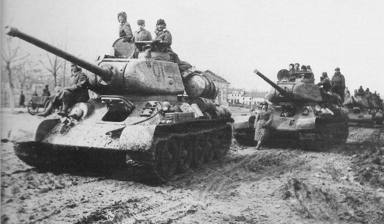 1944-1945 – Armia Czerwona wypiera Niemców z terytorium Polski