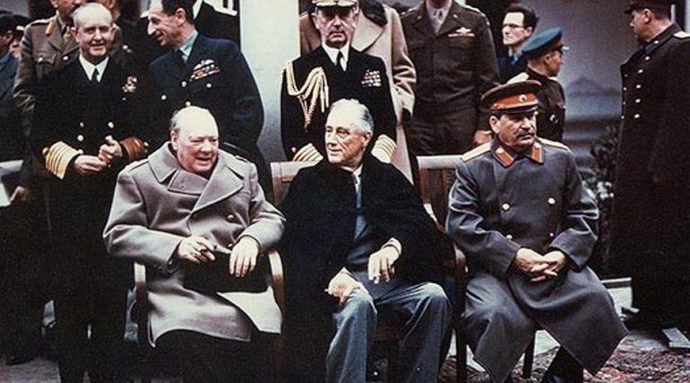 4-11 lutego 1945 r. – Konferencja przedstawicieli Wielkiej Trójki w Jałcie